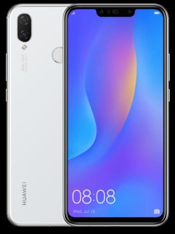 Смартфон HUAWEI P smart+ 4/64GB White (51093DYA)