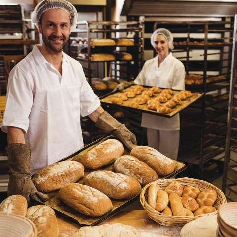 Работа для женщин и мужчин в пекарне в Чехии