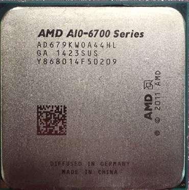 Процессор AMD A10-6700 Series