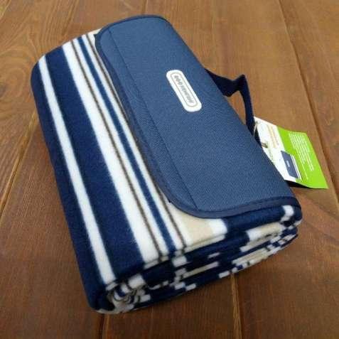 Плед для пикника пляжный коврик сумка-подстилка 150х135 см