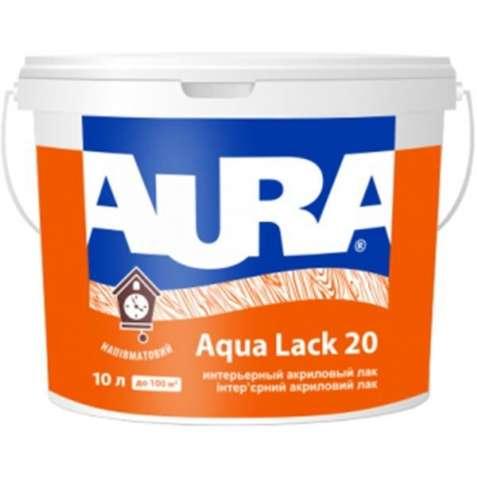 Интерьерный лак Aura Aqua Lack 20 (матовый). (2,5 л.) Акционная цена!