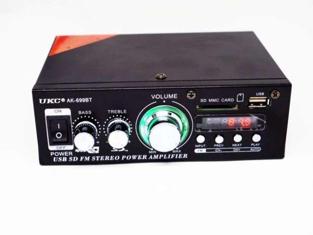 Усилитель звука UKC AK-699BT - Bluetooth, USB, SD-карта, MP3 2x300W