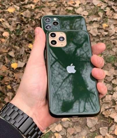 Скляний чохол glass case для iphone