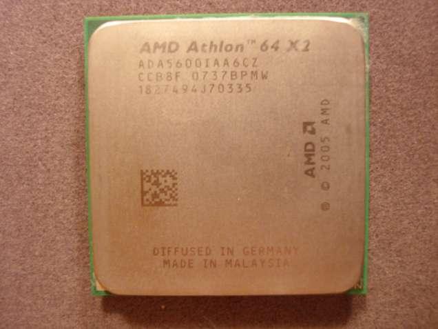 Процессор AMD Athlon 64 X2 5600+ /socket AM2/2800MHz/