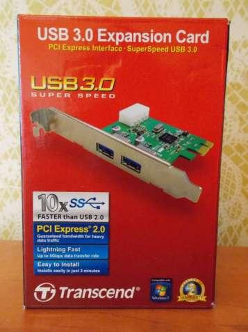 Новый ExpensionCard Adapter USB 3.0 Transend