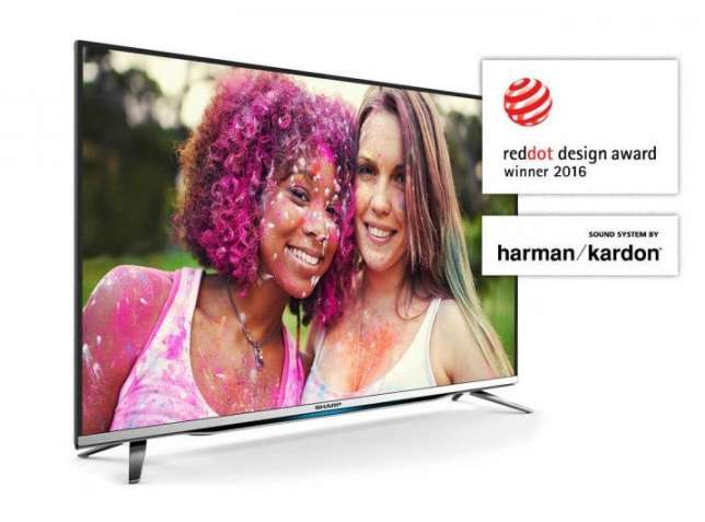 Телевизор Sharp LC-40CFG6452E Full HD, Smart.Dolby Digital Plus