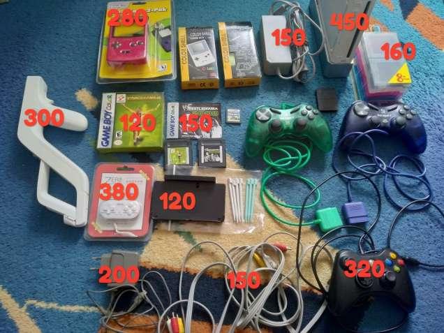 Аксессуары, картриджи для Nintendo Wii DS Gameboy PlayStation Sega ...
