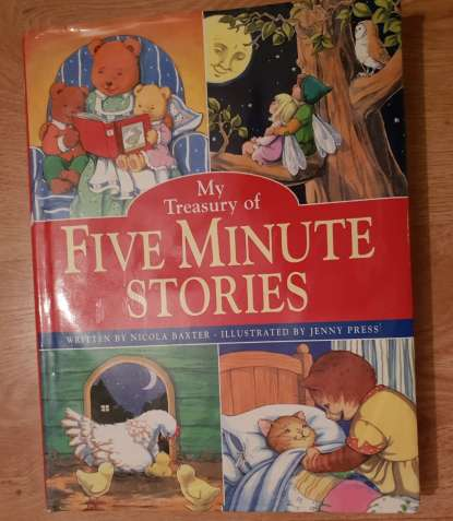 My treasury of five minute story. Nicola Baxter.Сборник историй-сказок