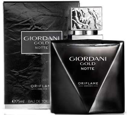 Giordani Gold Notte Oriflame мужская туалетная вода Орифлейм