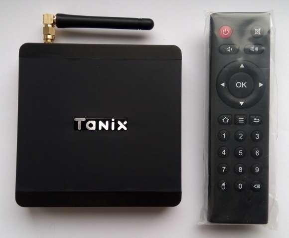 Tv Box Tanix TX5 Max (S905X2, 4/32GB, Android 8, SPDIF, WiFi 5G)