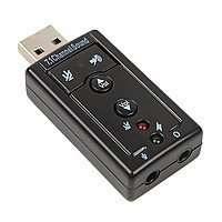 Внешняя USB звуковая карта