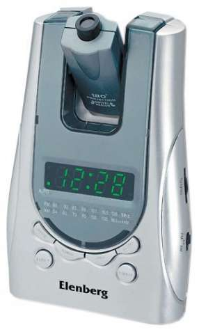 Радио-часы-будильник Elenberg CR 6612