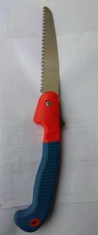 Ножовка складная садовая.