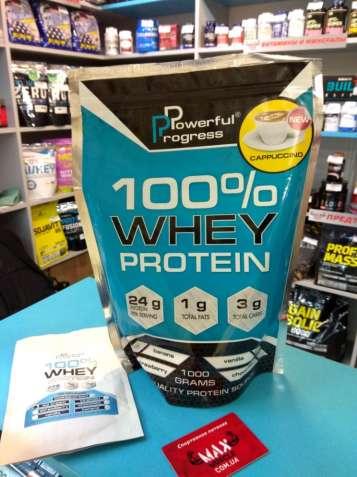 Протеин 100% Whey Protein (1 кг) Powerful Progress