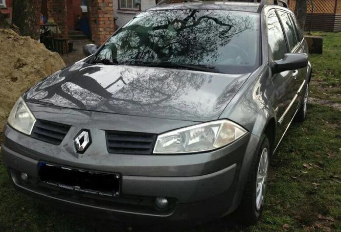Renault megane 2 1.9 dci в  ИДЕАЛЕ под растаможку