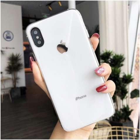 Скляний чохол glass case для iphone (7 кольорів)