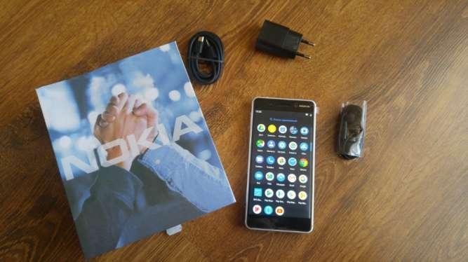 Nokia 6 4GB 32GB 16Mpx Android Dual Sim Сканер Новый Оригинал