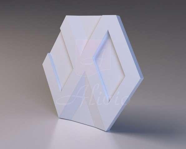 Гипсовые 3D панели Alivio серия Inifnity от производителя
