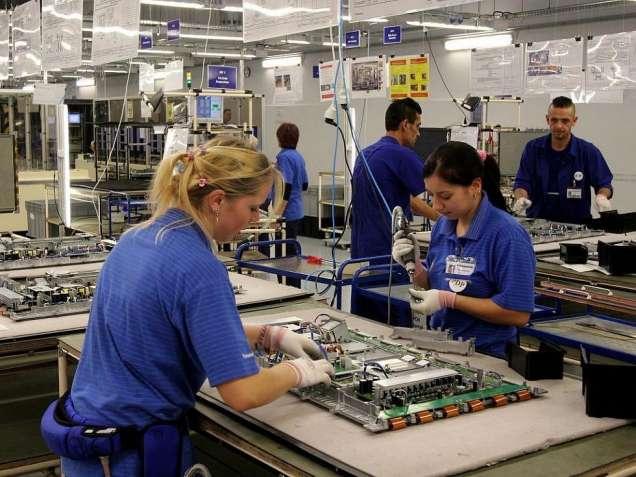 Работа на заводе телевизоров в Чехии