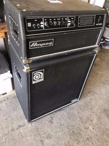 Усилитель для бас-гитары Ampeg SVT-1000