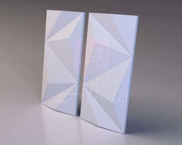Гипсовые 3D панели Alivio серия Polygonal от производителя