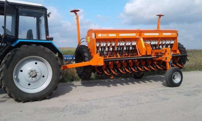 Сеялка зерновая СЗФ-4000-V (СЗ, Сівалка зернова, зернотукова)