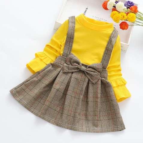 плаття жовте на дівчинку