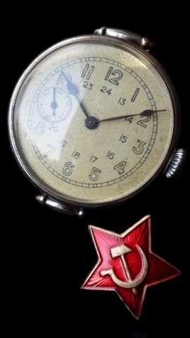 ЧАСЫ ВЕЛИКОЙ ОТЕЧЕСТВЕННОЙ ВОЙНЫ, АУТЕНТИЧНЫЕ, СССР 1938г. механика - изображение 8