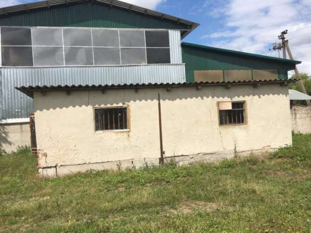 Будівля складу для матеріалів