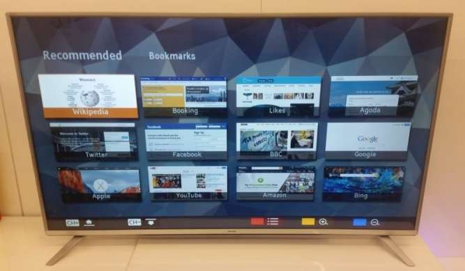 "Sharp LC-55CUF8462ES LED, 55"", Smart TV, 4K UHD, DVR"
