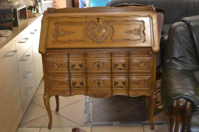 Старовинний секретер бюро, А10004 Антикварный секретер бюро купить