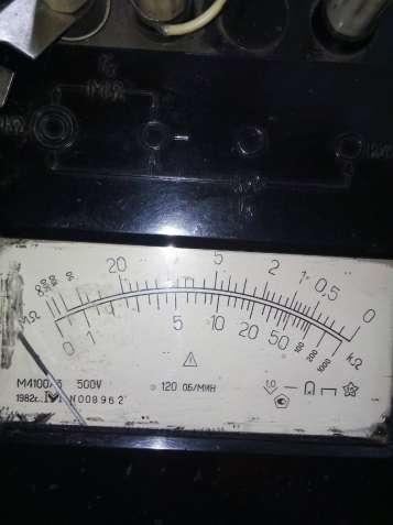Мегаомметр М4100/3