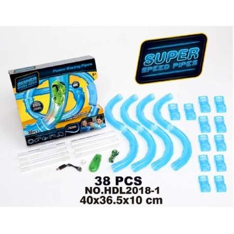 Трубопроводный Автотрек Super Speed Pipes HDL2018-1