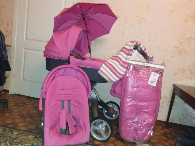Продам коляску Stokke Xplory, зима, лето, конверт, 12500 грн.