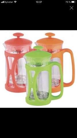 Френч-пресс Maestro MR-1663-600 чайник заварочник