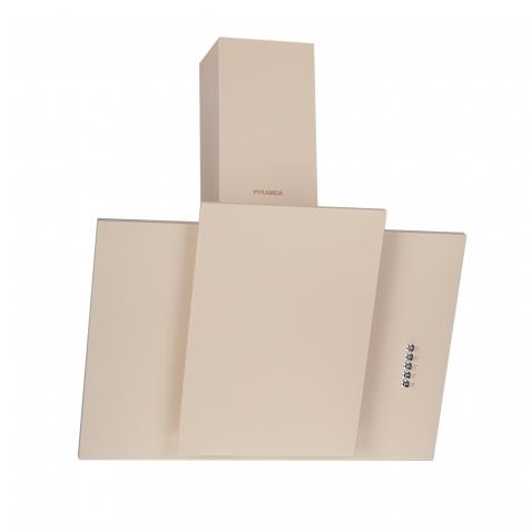 Вытяжка наклонная декоративная Pyramida KZ 60 Ivory витяжка для кухні