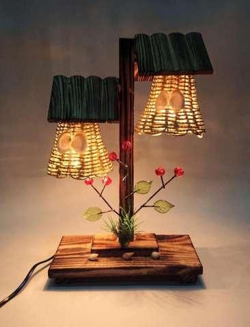 Декоративная лампа-ночник, светильник