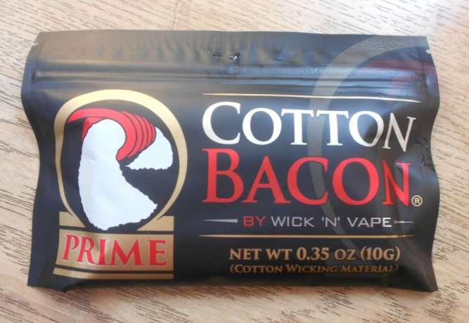Ватта Bacon cotton prime для вейпинга