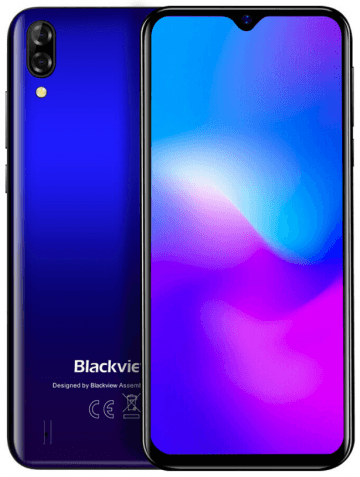 "Blackview A60 Pro blue 3/16 Gb, 6.08"", Helio A22, 3G, 4G"