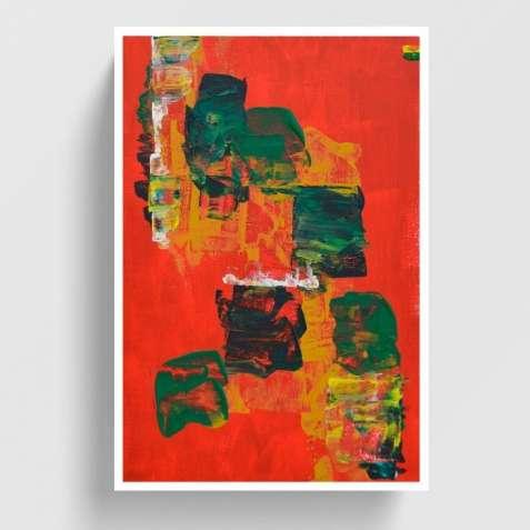 """Продам картину """"Червоний світанок"""" (2018)"""