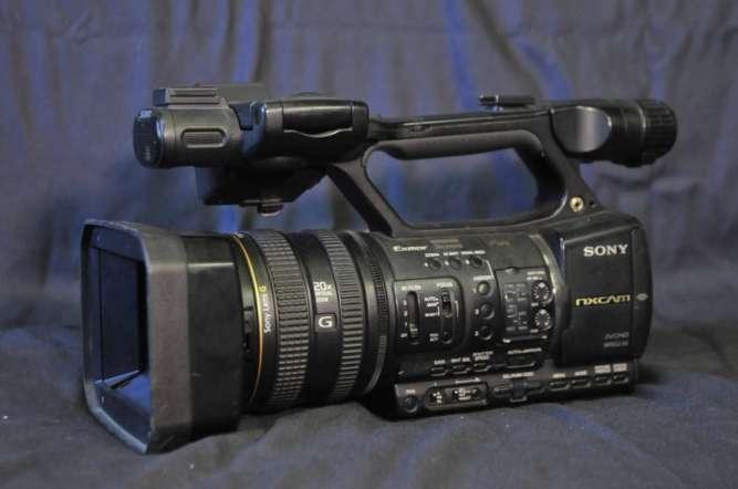 Видеокамера Sony HXR-NX5E профессиональный репортажный камкордер