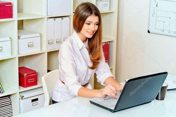 На постоянную работу требуется менеджер в офис