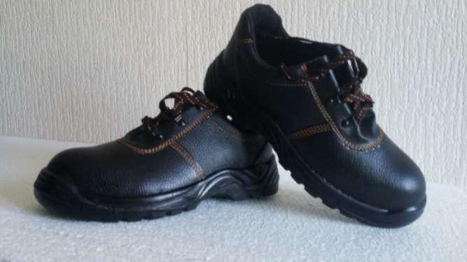 Туфли рабочие юфтевые