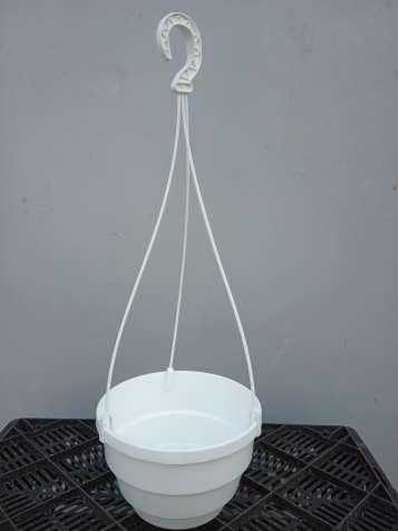 Горшок с подвесом 2,5 литра (диаметр – 20 см.)