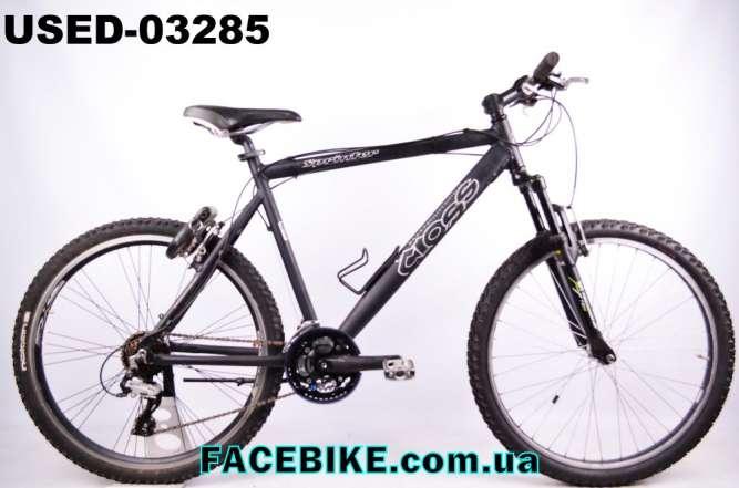 БУ Горный велосипед Cross-Гарантия,Документы-у нас Большой выбор!