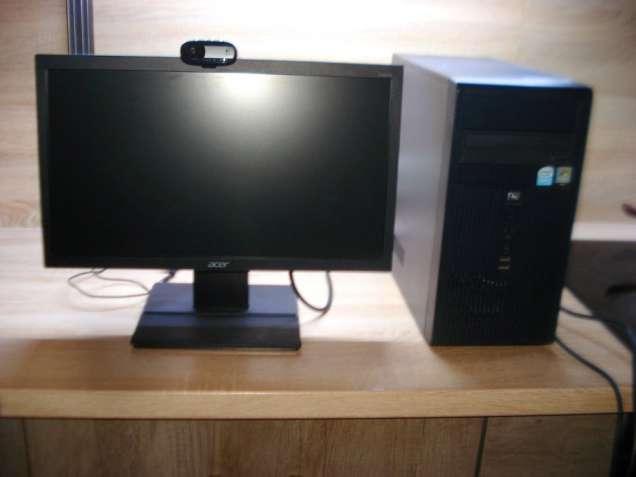 """Продам компю'тер. монітор 20"""" LCD."""