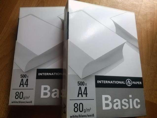 Продам бумагу офисную (International Paper), А4, 500л, 80 г/м.кв