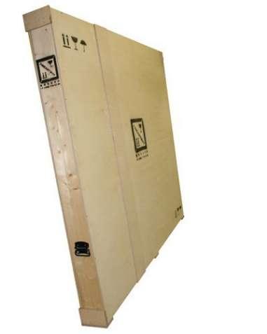 Заказать упаковку и перевозку картины из Украины за границу.