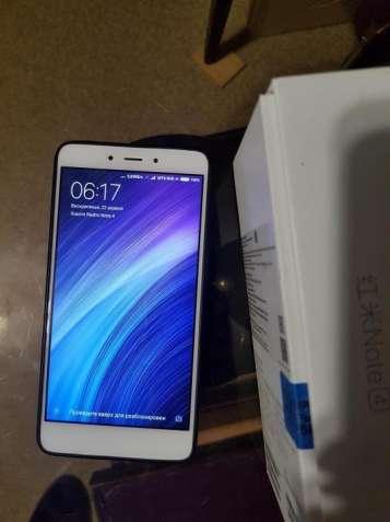 Смартфон Xiaomi Redmi Note 4 4/64GB + чехол + пленка  оригинальний - изображение 2
