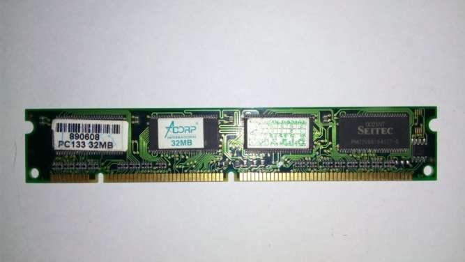 Модуль памяти dimm SDRAM PC100 / PC133 32Mb